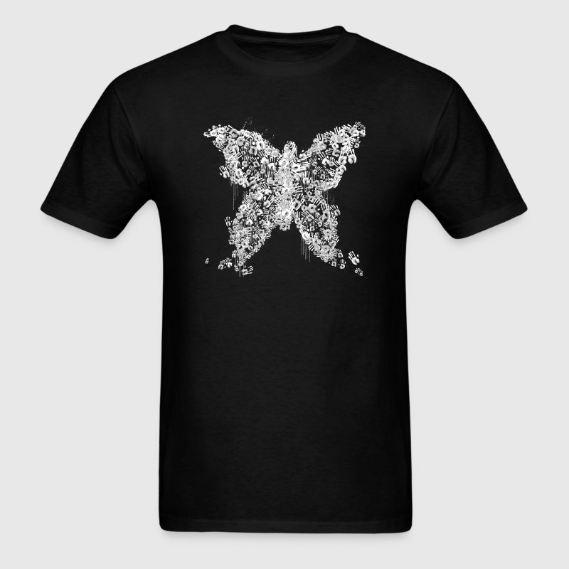 Bioshock Rapture Family Butterfly - Men's T-Shirt