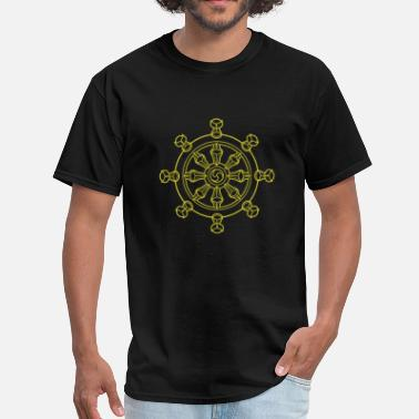 Wheel Dharma Wheel - Men's T-Shirt