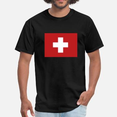 Swiss Flag Swiss Flag - Men's T-Shirt