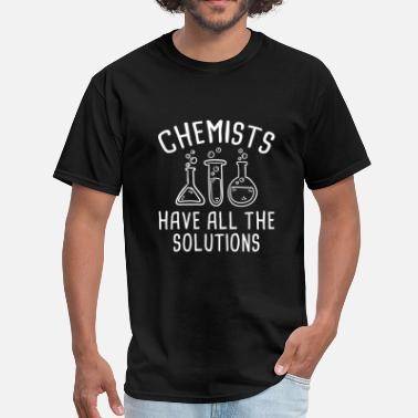 Solutions Chemists - Men's T-Shirt