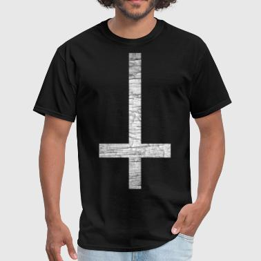 Inverted Cross Weathered - Men's T-Shirt