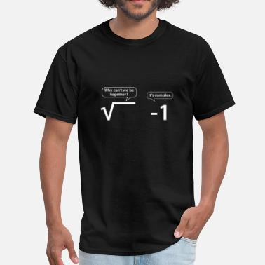 Math Jokes It's Complex - Men's T-Shirt