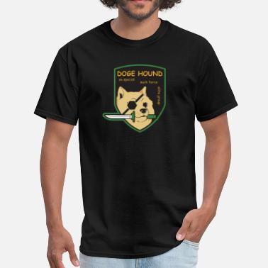 Metal Gear Solid Fox Doge Hound Metal Gear Solid T-Shirts - Men's T-Shirt