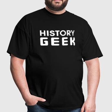 History Gee - Men's T-Shirt