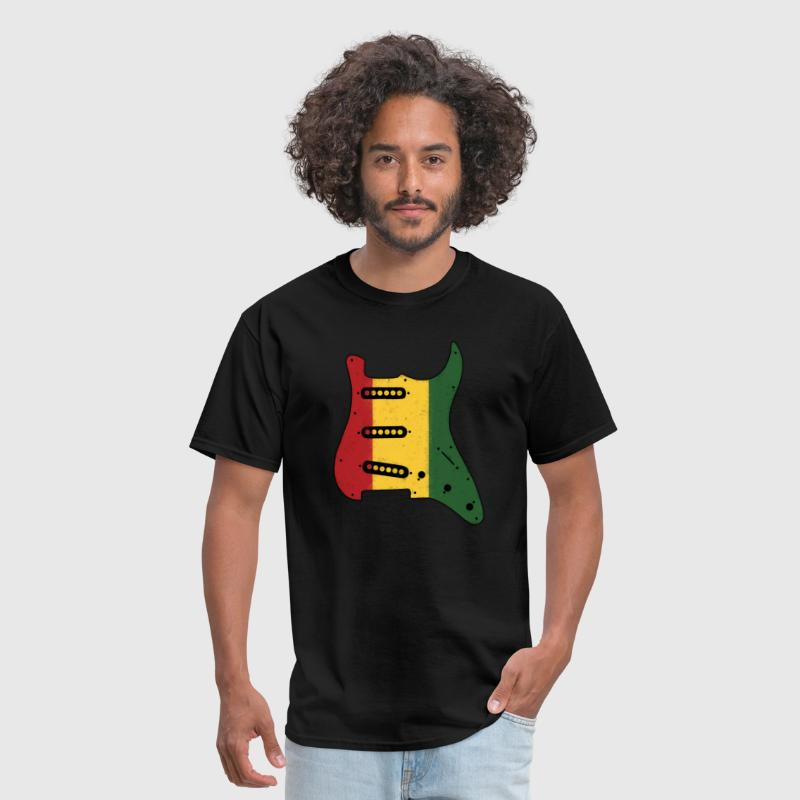 ‏‏Reggae Pickguard - Men's T-Shirt