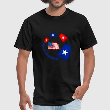 Sport Stacking Sport Stacking USA - Men's T-Shirt