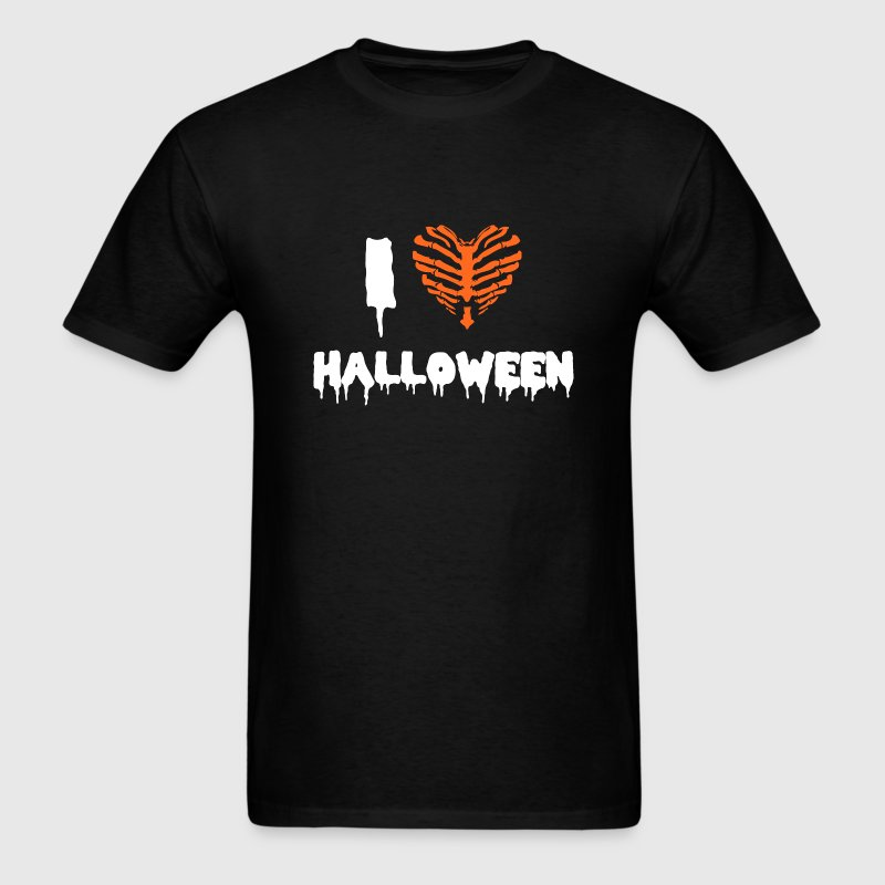 I Love Halloween - Men's T-Shirt