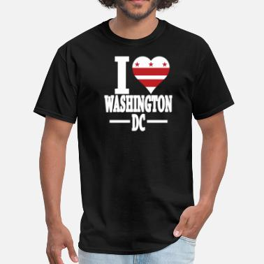 I Love Dc I LOVE WASHINGTON DC - Men's T-Shirt