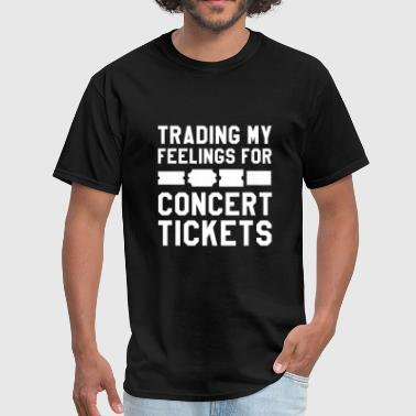 Feelings Concert Tickets - Men's T-Shirt