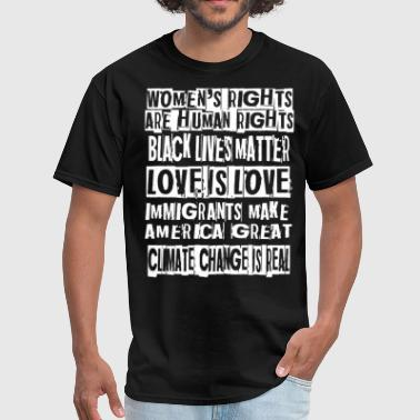 Black Lives Matter To Me Protest Gift for Activist Intersectional Feminist - Men's T-Shirt