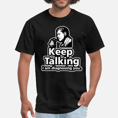 Small Talk keep Talking - Men's T-Shirt