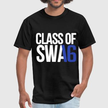 CLASS OF SWAG (2016) blue with no bands - Men's T-Shirt