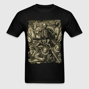 DEATH AND ROYAL TWINS - Men's T-Shirt