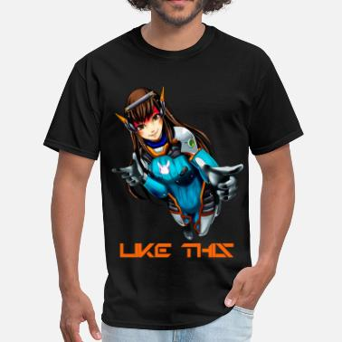 Overwatch Dva - Men's T-Shirt