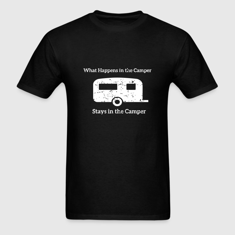 What happens in the Camper, stays in the Camper. - Men's T-Shirt
