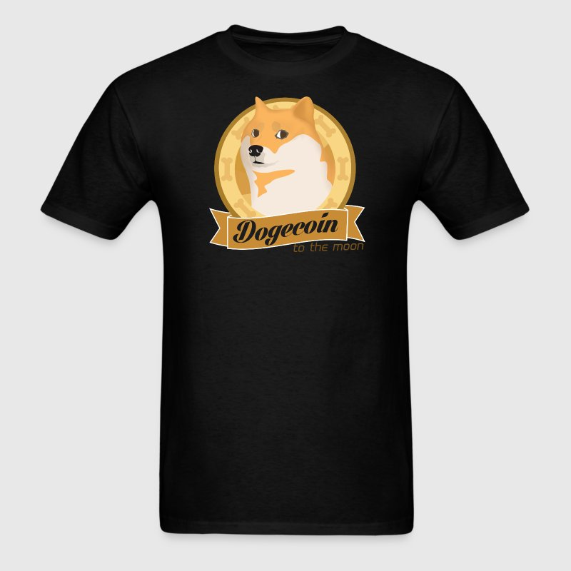 Dogecoin To The Moon - Men's T-Shirt
