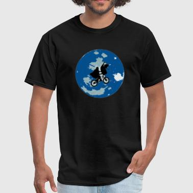 movie fan moon space - Men's T-Shirt