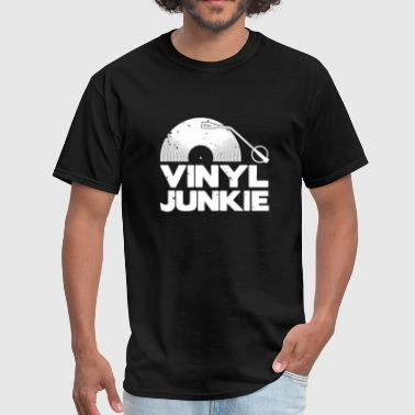 Vinyl Junkie - Men's T-Shirt