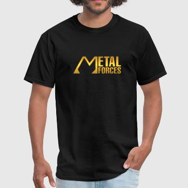 metal forces gold - Men's T-Shirt