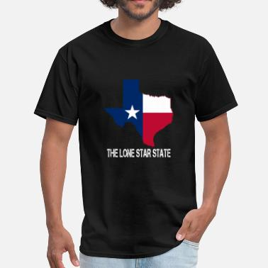 Lone The lone Star State Texas - Men's T-Shirt