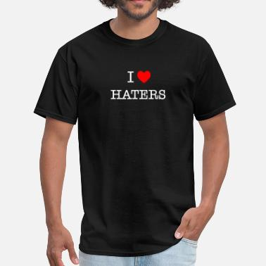 I Heart Haters I Heart Haters - white - Men's T-Shirt