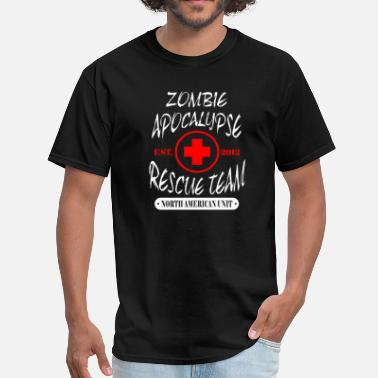 Team Zombie Zombie Apocalypse Rescue Team  - Men's T-Shirt