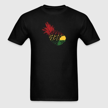 Rasta pinapple  - Men's T-Shirt