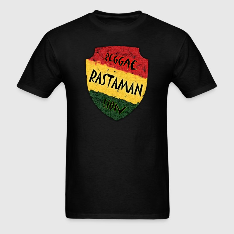 Reggae Rastaman Lion - Men's T-Shirt