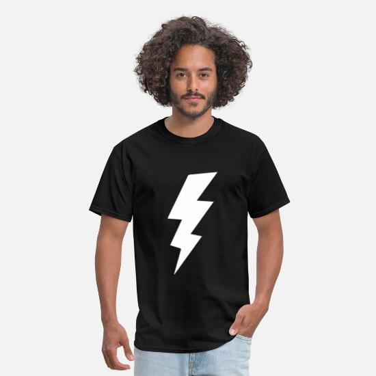 Bolt T-Shirts - Lightening Bolt - Men's T-Shirt black