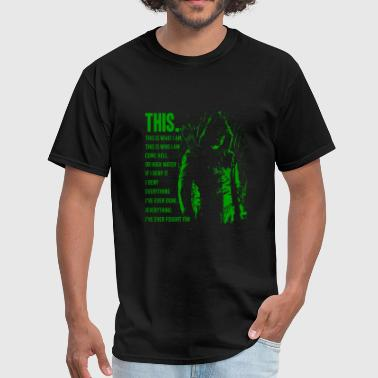 Green arrow - This is what I am awesome t-shirt - Men's T-Shirt