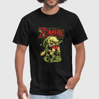 Legend of Zombie horror T - shirt - Men's T-Shirt
