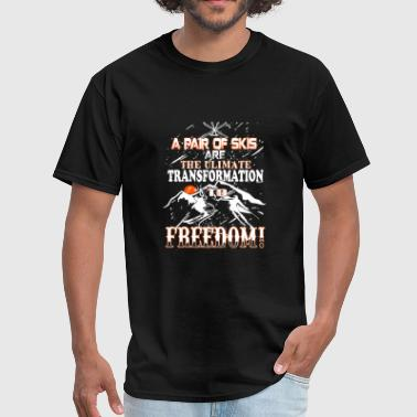 Freed Ski Ski The ultimate transformation to freed - Men's T-Shirt