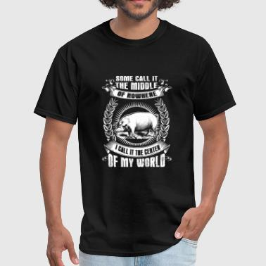 Pink Floyd Pig - some call it of nowhere i call it the cent - Men's T-Shirt