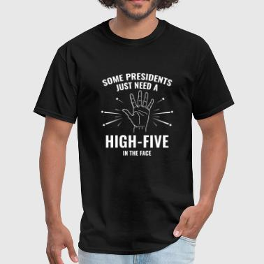 Americas High Five President High-Five Face - Men's T-Shirt