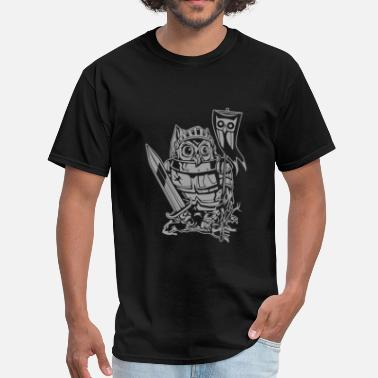 Knight Owl Knight Owl - Men's T-Shirt