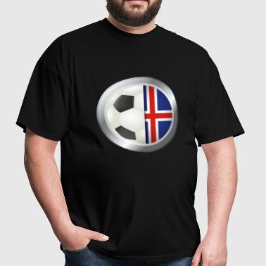Iceland Soccer - Men's T-Shirt
