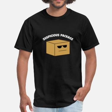 Suspicious Package Suspicious Package - Men's T-Shirt