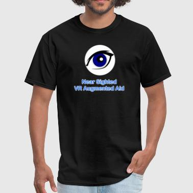 Visually Impaired Near Sighted VR Augmented Aid  - Men's T-Shirt