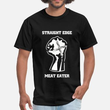 Biscuits Straight Edge Meat Eater - Men's T-Shirt