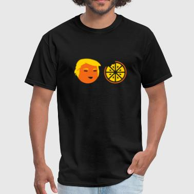 Trump Orange With Hair Trump Orange Bite Cartoon - Men's T-Shirt