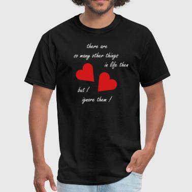 Nothing but love - Men's T-Shirt