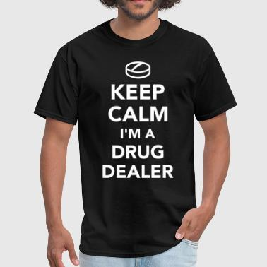 Keep Calm And Smoke A Joint Drug dealer - Men's T-Shirt