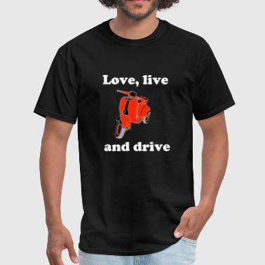 love live and live - Men's T-Shirt