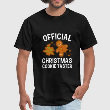 Official Christmas Cookie Taster - Men's T-Shirt