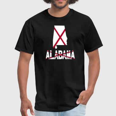 Alabama State Flag Alabama Flag T-Shirt - Men's T-Shirt