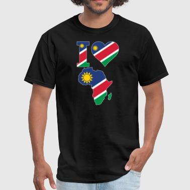 I Love Niger I Love Africa Niger Flag - Men's T-Shirt