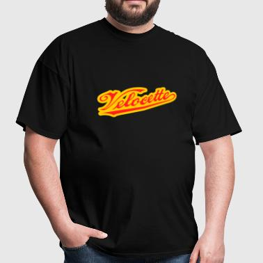 Colored Velocette script - AUTONAUT.com - Men's T-Shirt