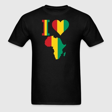 I Love Africa Guinea Conakry - Men's T-Shirt