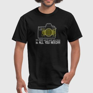 Nikon D700 is all you need - Men's T-Shirt
