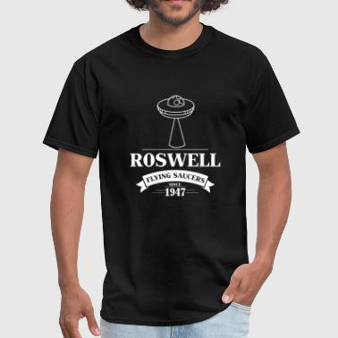 Unidentified Flying Objects Funny UFO - Flying Saucer Roswell - Ship Humor - Men's T-Shirt